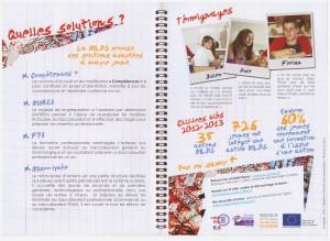La plaquette des rencontres des CEMEA Picardie sur le décrochage scolaire