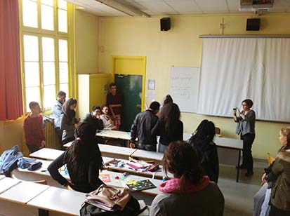 Interventions en lycée